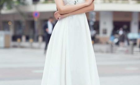 Vẻ duyên dáng của tiếp viên hàng không thi hoa hậu Đặng Vân Ly